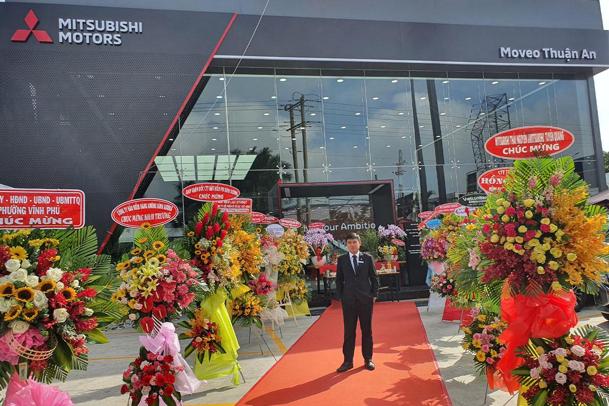 Mitsubishi Bình Dương - Khai trương phòng trưng bày MOVEO tại Thành phố Thuận An